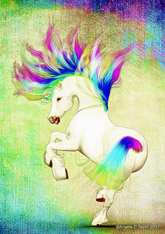Rainbow Unicorn Dances