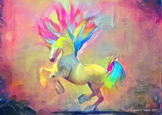Hivewire Harry Dancing Rainbow Unicorn
