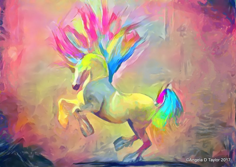 Hivewire Horse Harry Dancing Rainbow Unicorn