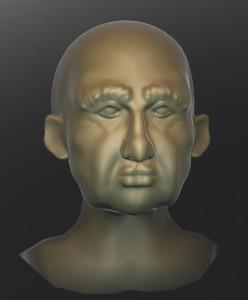 Sculptris sculpted head
