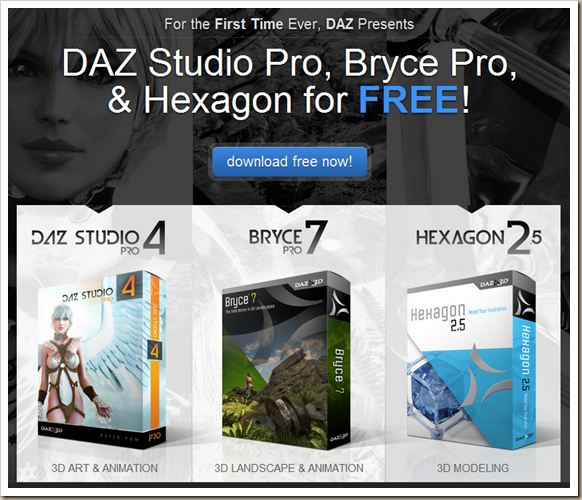 Daz studio win32 free download for windows 10, 7, 8/8. 1 (64 bit/32.