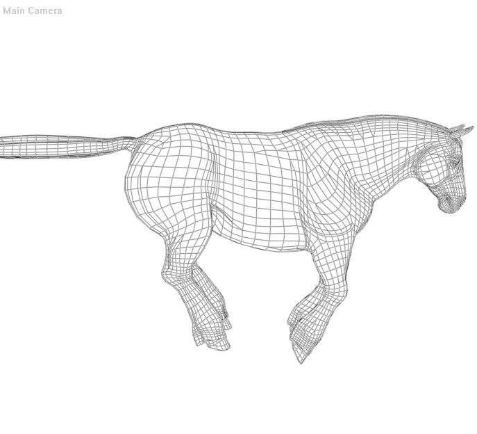 Daz Charger wireframe