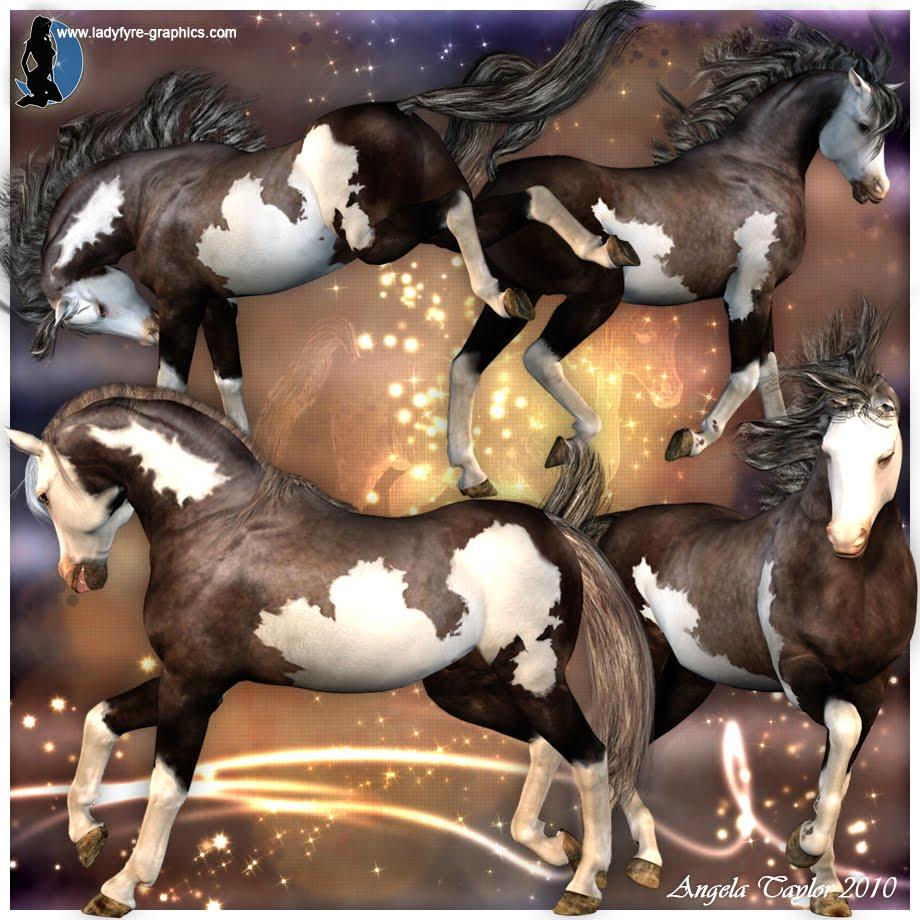 Millennium Horse textures