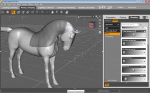 Daz Horse 2 3d Model