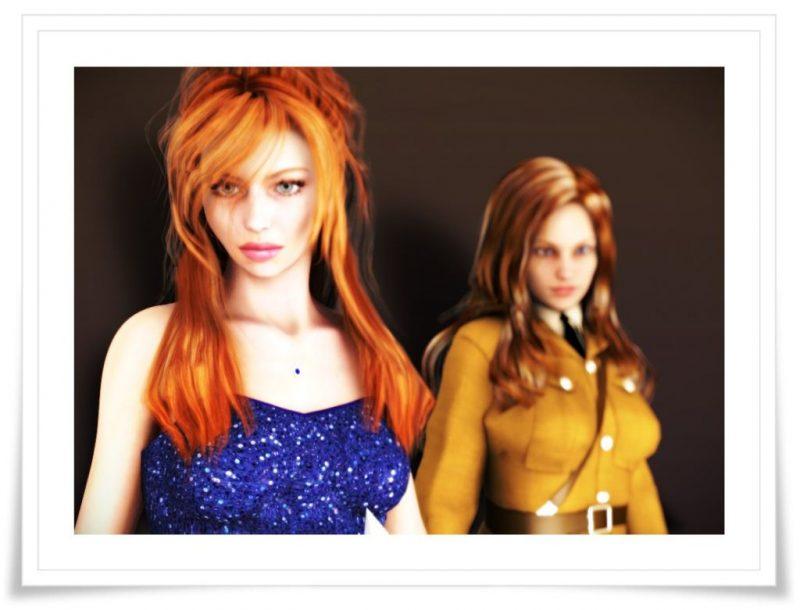 Daz Victoria 5 and Genesis character render