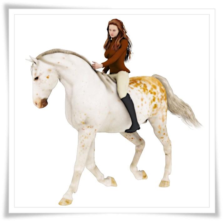Victoria 5 Riding Appaloosa Mi Horse