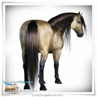 Conforming Mane for Daz Horse 2 Figure