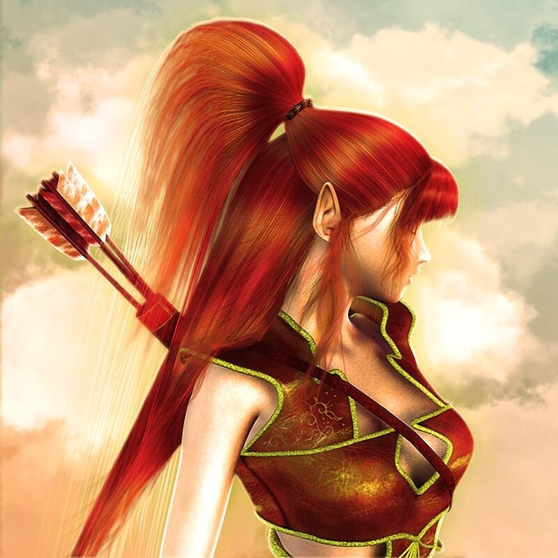 Maiden elf archer