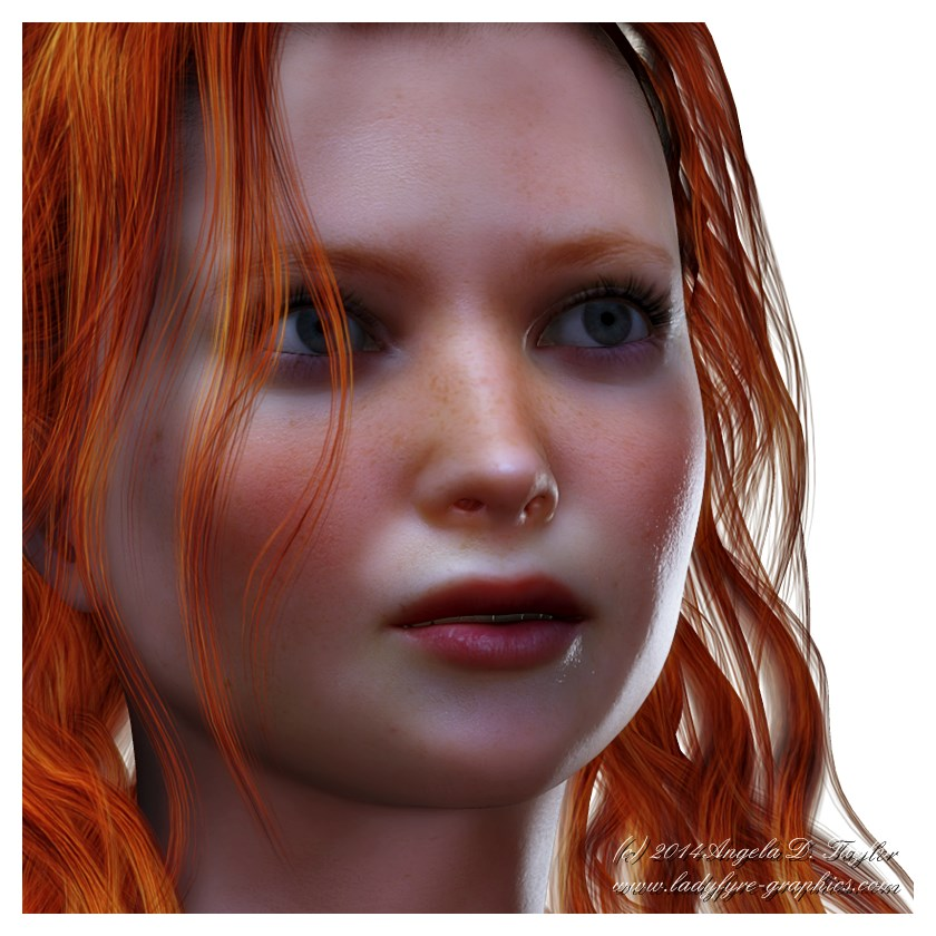 Victoria 4 subsurface scattering