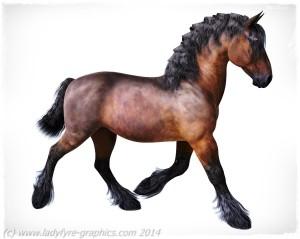 Hivewire3d Horse cob character