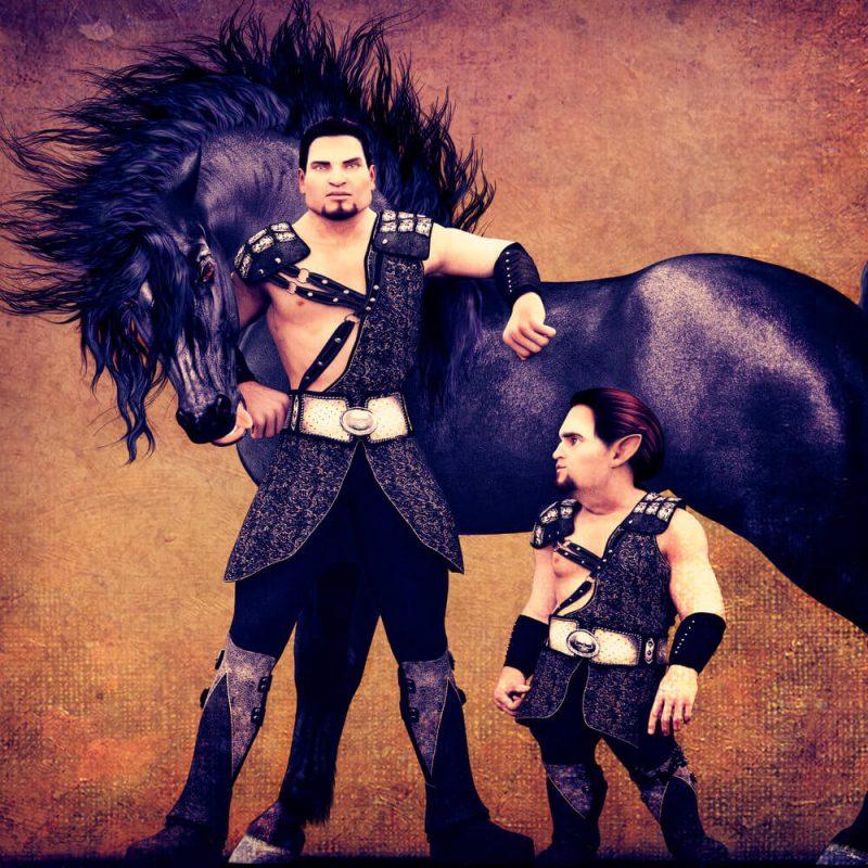3 Bros hivewire horse render