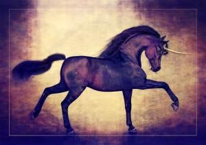 Hivewire Horse Black Arabian Unicorn