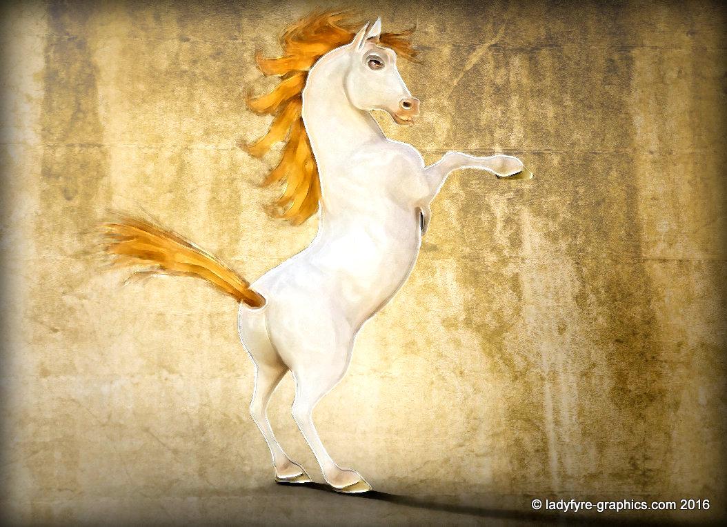 Hivewire3d horse model toon horse (HW3D)