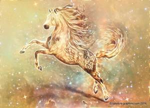 Hivewire 3d horse model Sparkle Horse