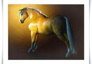 Chestnut Welsh Cob for Daz Millennium Horse