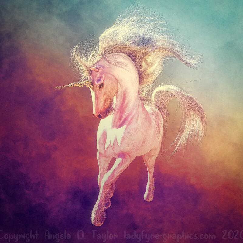 HWH All in One Strand Hair Unicorn