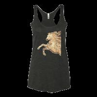Sparkle Horse Motif Women's tank top