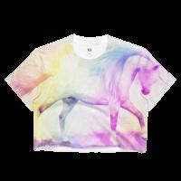 Unicorn Dreams Ladies Crop Top