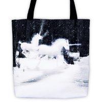 Legend of the Unicorns Tote bag