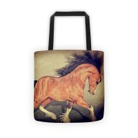 Heavy Horse Tote bag