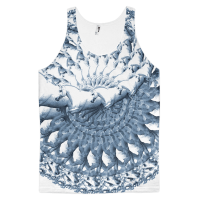 Horse Spiral Classic fit tank top (unisex)