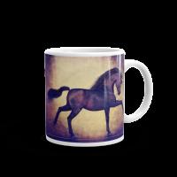 Black Unicorn Magical Mug