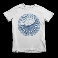 Spiral Horse Short sleeve kids t-shirt