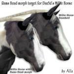 Ram's Head for the Millennium Horse