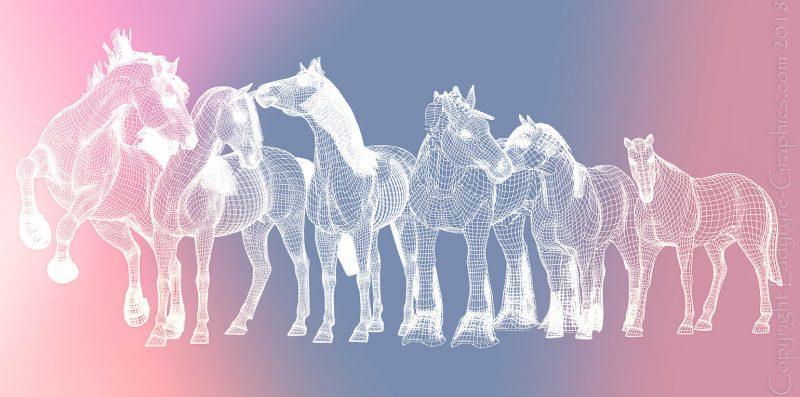 3d Horse Models for Poser & Daz Studio